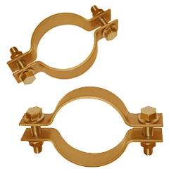 Pipe Clamps Brass Pipe Clamps Stainless Steel Copper Pipe Clamps